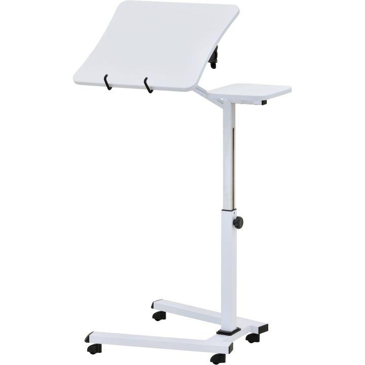 Стол для ноутбука UniStor CLARE с подставкой для мышки на колесиках