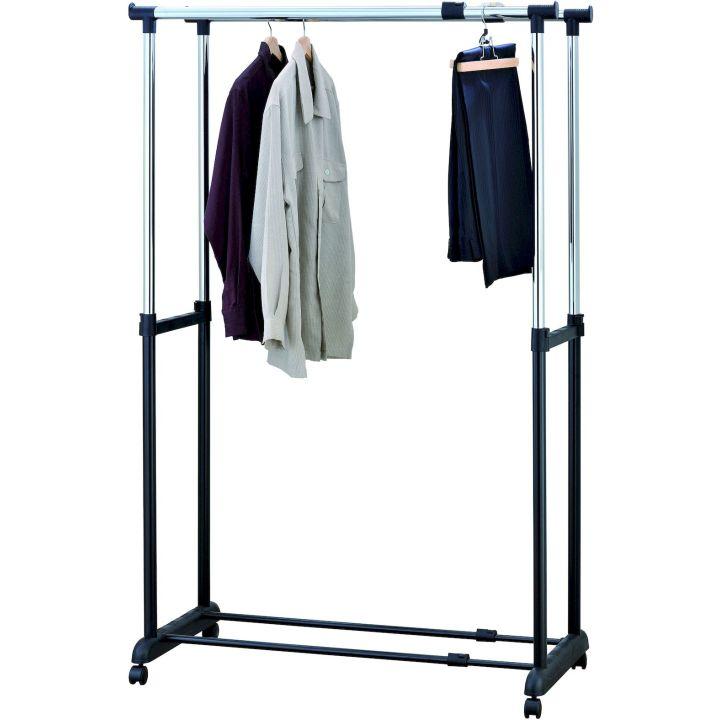 Стойка для одежды двойная UniStor Caroline